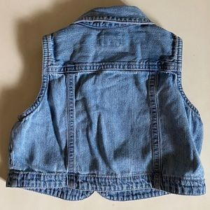 GAP Jackets & Coats - Baby Gap Light Denim Vest 12-24 mo